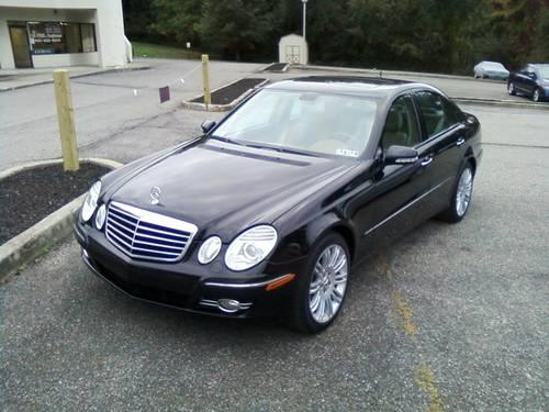 2007 mercedes e350 4matic 4dr 78k black w tan navigation for Mercedes benz poughkeepsie ny