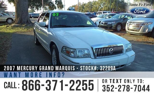 2007 Mercury Grand Marquis LS - Leather Interior -
