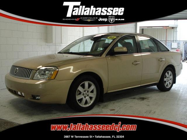 2007 Mercury Montego Luxury For Sale In Tallahassee Florida