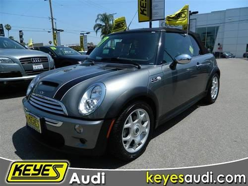 2007 mini cooper convertible s convertible 2d for sale in van nuys california classified. Black Bedroom Furniture Sets. Home Design Ideas