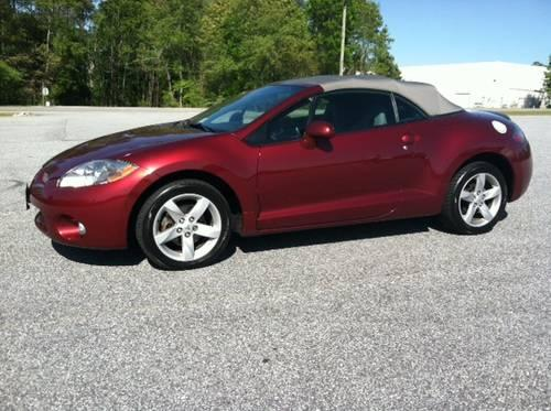 2007 mitsubishi eclipse gs spyder convertible loaded for sale in knoxville tennessee. Black Bedroom Furniture Sets. Home Design Ideas