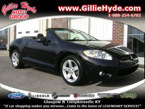 2007 mitsubishi eclipse spyder convertible gs for sale in dry fork kentucky classified