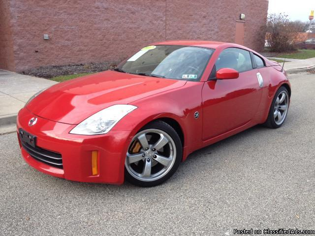 2007 nissan 350z coupe for sale in delmont pennsylvania classified. Black Bedroom Furniture Sets. Home Design Ideas