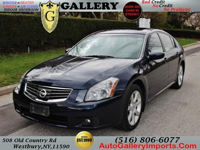 2007 nissan maxima 3 5 se 4dr sedan for sale in westbury new york classified. Black Bedroom Furniture Sets. Home Design Ideas