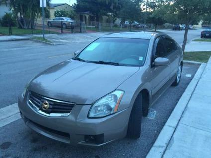 2007 nissan maxima 3 5 se for sale in hialeah florida classified. Black Bedroom Furniture Sets. Home Design Ideas