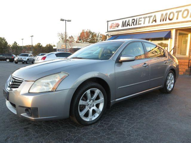 2007 nissan maxima 4dr sdn v6 cvt 3 5 se for sale in marietta georgia classified. Black Bedroom Furniture Sets. Home Design Ideas
