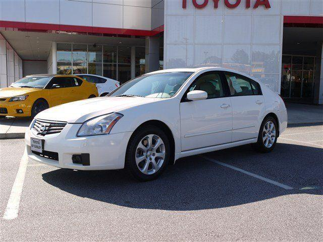 2007 nissan maxima sl for sale in easley south carolina classified. Black Bedroom Furniture Sets. Home Design Ideas