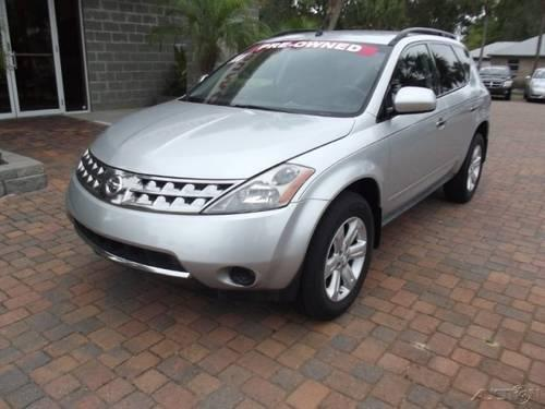 2007 nissan murano suv sl for sale in madison florida classified. Black Bedroom Furniture Sets. Home Design Ideas