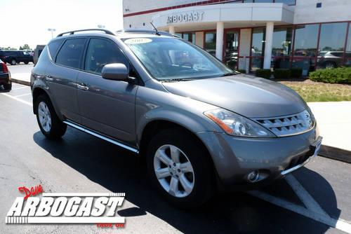 2007 nissan murano suv sl awd for sale in troy ohio classified. Black Bedroom Furniture Sets. Home Design Ideas