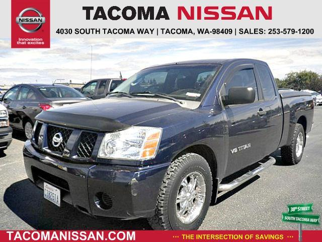 2007 nissan titan xe xe 4dr king cab sb for sale in tacoma washington classified. Black Bedroom Furniture Sets. Home Design Ideas