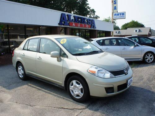 2007 nissan versa 4 dr sedan 1 8 s for sale in salem new hampshire classified. Black Bedroom Furniture Sets. Home Design Ideas