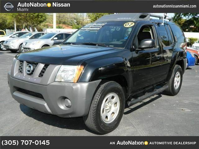 2007 nissan xterra for sale in miami florida classified. Black Bedroom Furniture Sets. Home Design Ideas