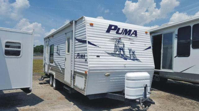 2007 Palomino Puma Travel Trailer Model 25rks For Sale In