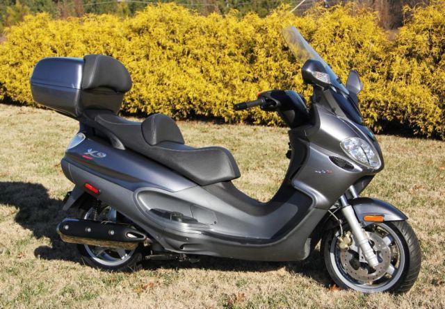 2007 piaggio vespa x9 evolution 500 motor scooter for sale in hillsboro north carolina. Black Bedroom Furniture Sets. Home Design Ideas