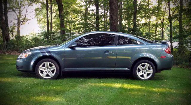2007 pontiac g5 79k miles auto stealth grey metallic. Black Bedroom Furniture Sets. Home Design Ideas