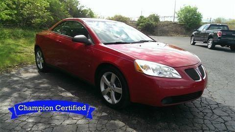 2007 pontiac g6 2 door convertible for sale in erie pennsylvania classified. Black Bedroom Furniture Sets. Home Design Ideas