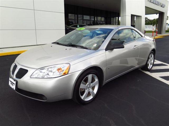 2007 pontiac g6 2dr convertible gt for sale in brooksville florida classified. Black Bedroom Furniture Sets. Home Design Ideas