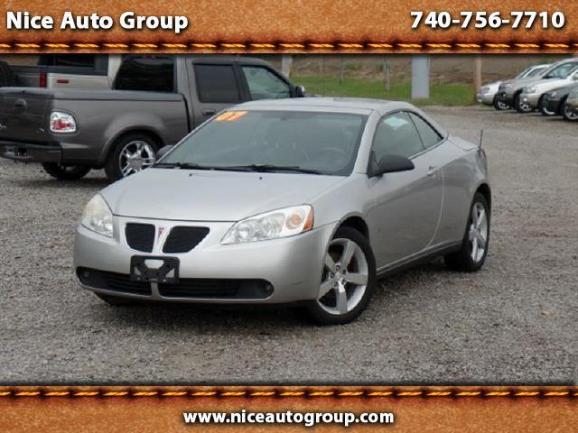 2007 pontiac g6 gt gt 2dr convertible for sale in carroll ohio classified. Black Bedroom Furniture Sets. Home Design Ideas