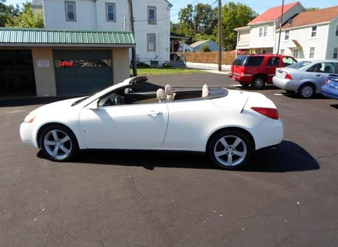 2007 pontiac g6 gt hard top convertible for sale in donegal heights pennsylvania classified. Black Bedroom Furniture Sets. Home Design Ideas