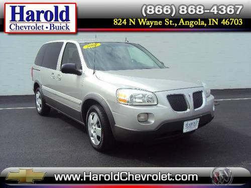 2007 Pontiac Montana Sv6 Van For Sale In Angola Indiana