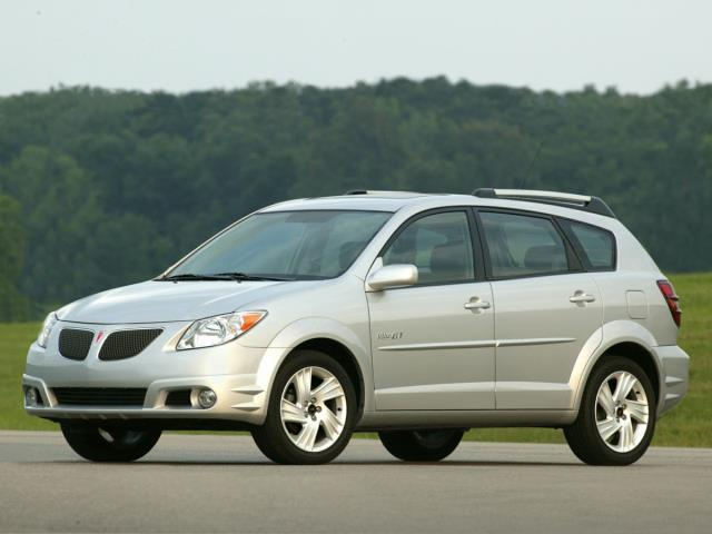 2007 Pontiac Vibe Base 4dr Wagon