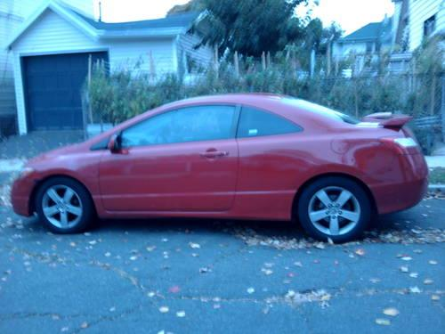 2007 red honda civic stick shift reduced for sale in hillside new jersey classified. Black Bedroom Furniture Sets. Home Design Ideas