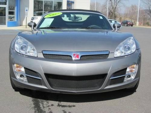2007 Saturn Sky 2DR conv - grey- 5spd manual - only34k