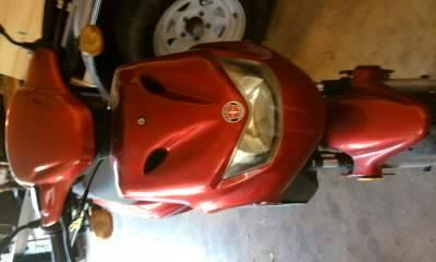2007 SCHWINN 50cc CHERRY RED 'SPORT' scooter--only 178