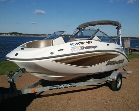 2007 Seadoo Challenger 180 Se Wake Tower Low Hours Video Make Offer For Sale In Jackson