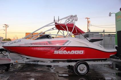 2007 SeaDoo Speedster 200 Jet Boat Supercharger 430 Hp w ...
