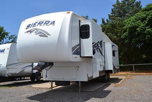 2007 sierra 295rlts fifth wheel for sale in longview texas classified. Black Bedroom Furniture Sets. Home Design Ideas