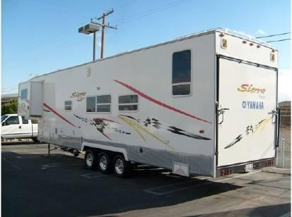 2007 Sierra Sport F39sp Toy Hauler For Sale In Hesperia