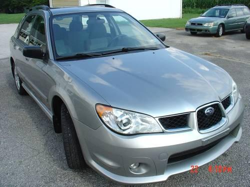 2007 subaru impreza wagon manual light blue 1 owner for sale in york pennsylvania. Black Bedroom Furniture Sets. Home Design Ideas