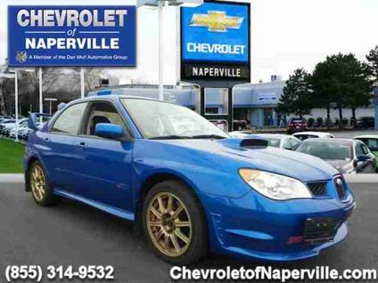 2007 subaru impreza wrx sti for sale in naperville illinois classified. Black Bedroom Furniture Sets. Home Design Ideas