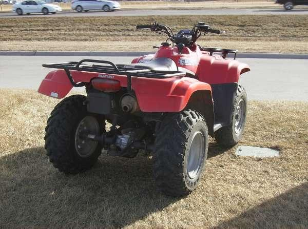 2007       Suzuki       Eiger    400 4x4 Auto for Sale in North Bend  Nebraska Classified   AmericanListed