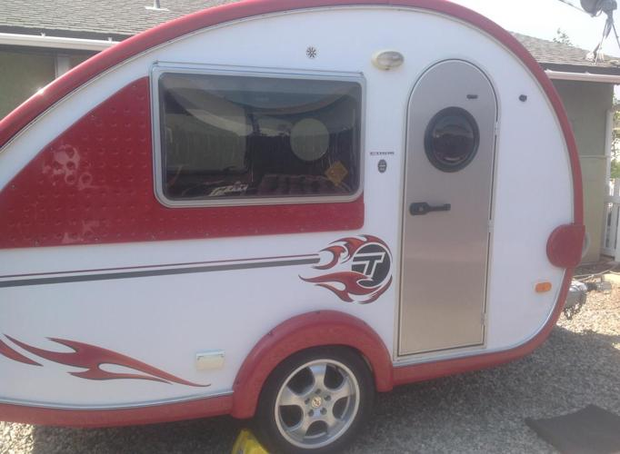 2007 T B Teardrop Trailer For Sale In Alpine Forest California Classified Americanlisted Com