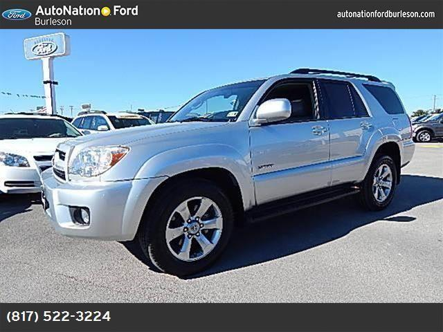 2007 toyota 4runner for sale in burleson texas classified. Black Bedroom Furniture Sets. Home Design Ideas