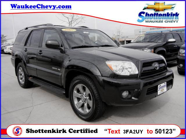2007 toyota 4runner limited for sale in waukee iowa classified. Black Bedroom Furniture Sets. Home Design Ideas