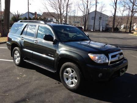 2007 toyota 4runner sr5 4wd metallic shadow mica 81k miles for sale in scotch plains new. Black Bedroom Furniture Sets. Home Design Ideas
