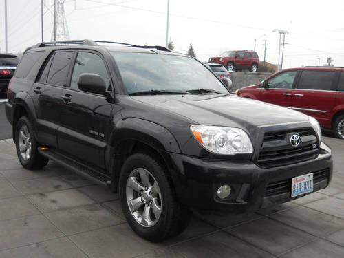 2007 Toyota 4runner Suv Limited V8 For Sale In Spokane