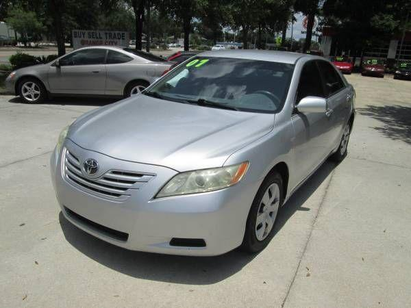 2007 TOYOTA CAMRY $995.00 DOWN EVERY ONE APPROVED