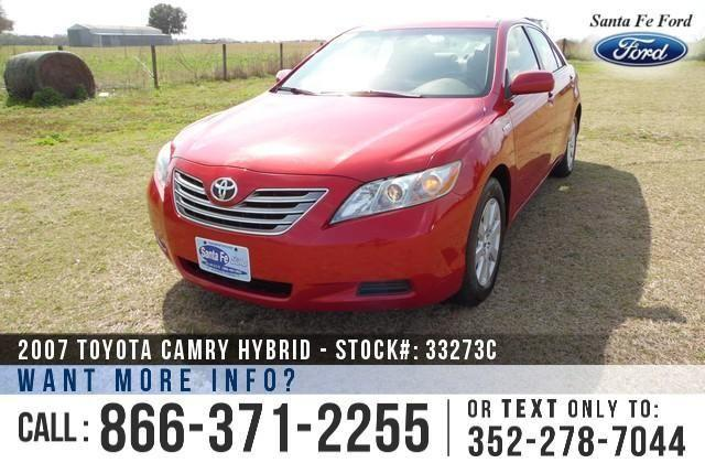 2007 Toyota Camry Hybrid - 104K Miles - On-Site