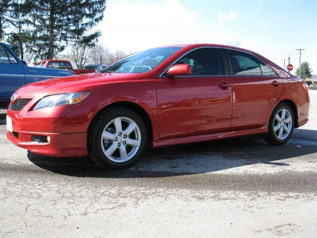 2007 toyota camry se for sale in byesville ohio classified. Black Bedroom Furniture Sets. Home Design Ideas