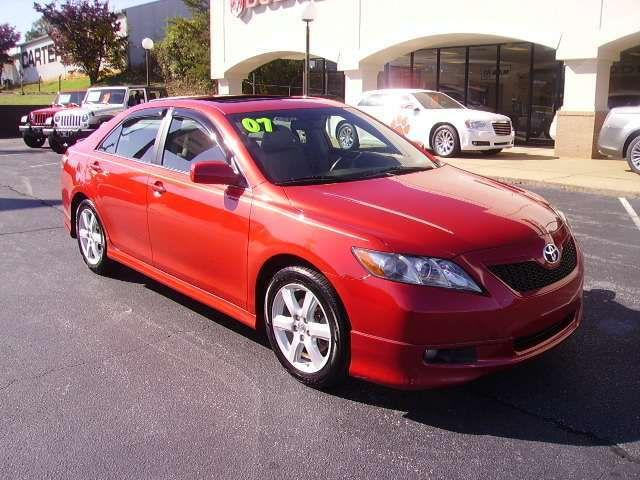 2007 toyota camry se for sale in easley south carolina classified. Black Bedroom Furniture Sets. Home Design Ideas
