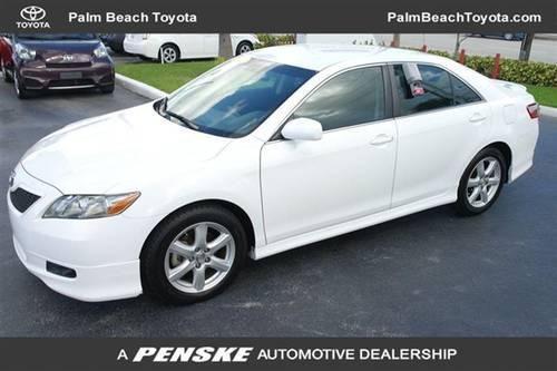 2007 TOYOTA Camry SEDAN 4 DOOR 4dr Sdn I4 Manual SE