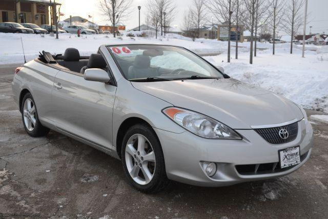 2007 toyota camry solara sle convertible for sale in sycamore illinois classified. Black Bedroom Furniture Sets. Home Design Ideas