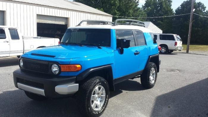 2007 toyota fj cruiser 4wd 4dr auto for sale in greenwood south carolina classified. Black Bedroom Furniture Sets. Home Design Ideas