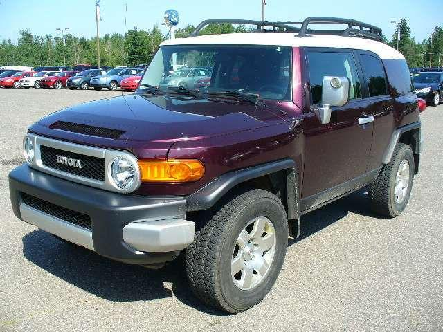 2007 toyota fj cruiser for sale in marquette michigan classified. Black Bedroom Furniture Sets. Home Design Ideas
