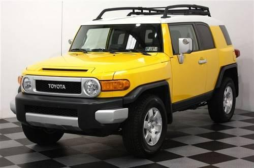 2007 toyota fj cruiser suv 4x4 suv for sale in perkasie pennsylvania classified. Black Bedroom Furniture Sets. Home Design Ideas