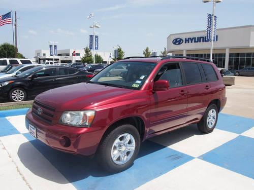 2007 toyota highlander suv for sale in houston texas classified. Black Bedroom Furniture Sets. Home Design Ideas